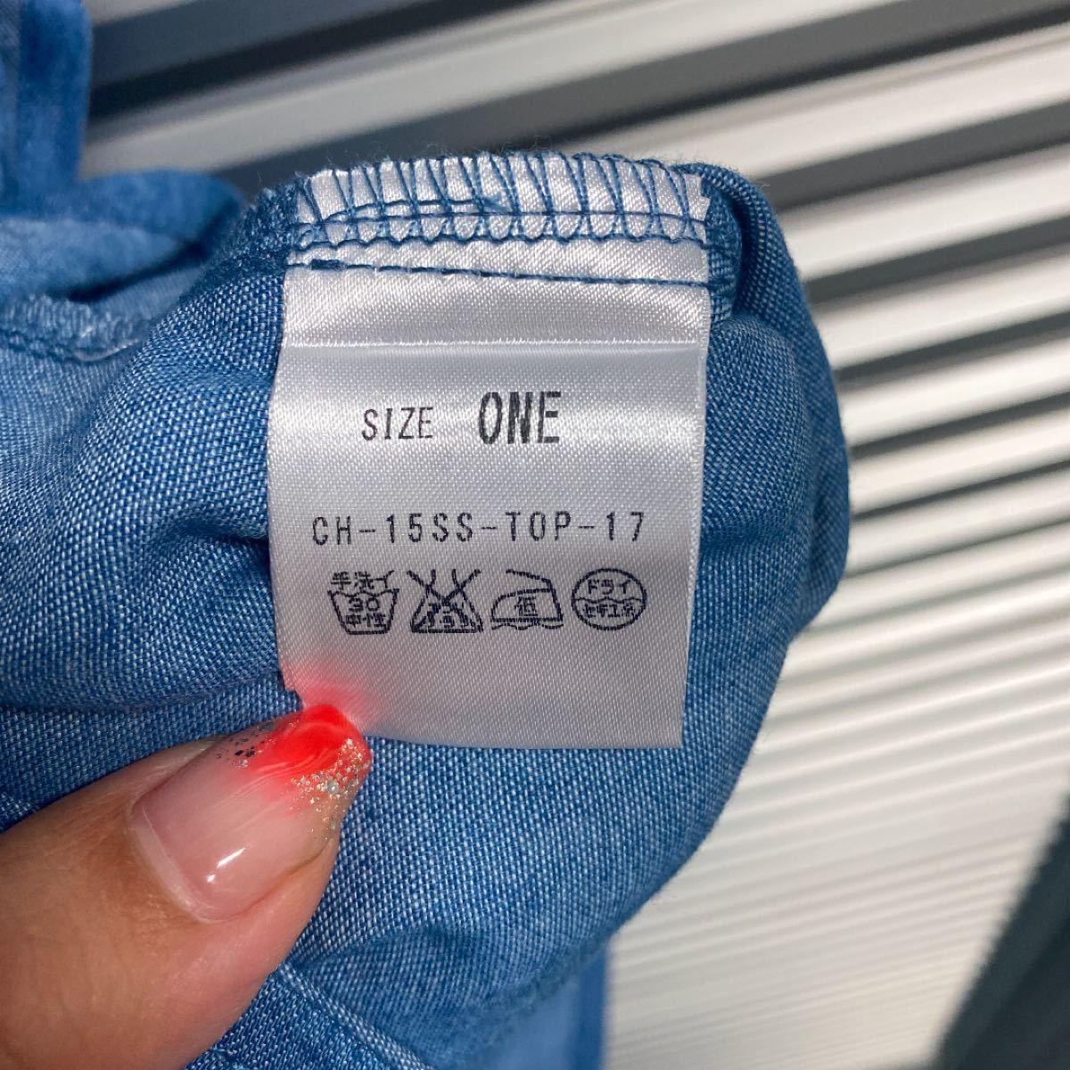 ブラウス ノースリーブシャツ新品未使用 CHEEKY cheeky