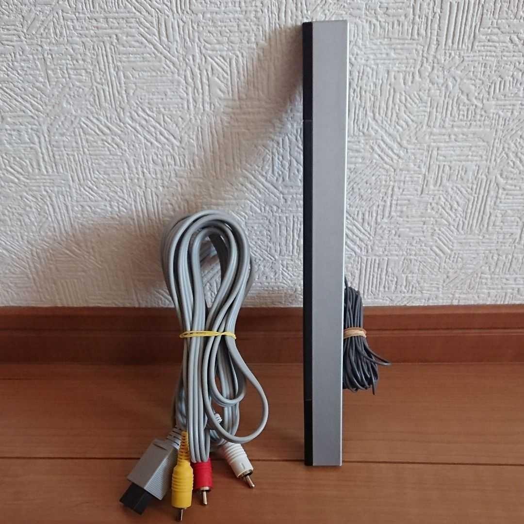 wii WiiU センサーバー AVケーブル RVL-009 2点 セット