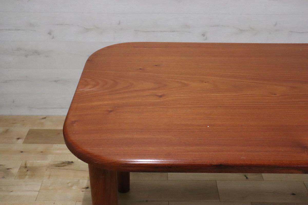 GMDKS241 ○ 北欧 ヴィンテージ スタイル 大型 ダイニングテーブル 作業台 店舗 カフェ 什器 天然木 無垢材_画像3