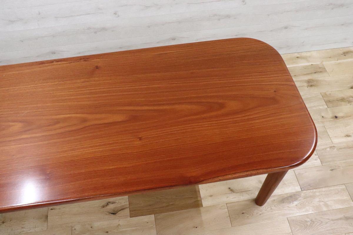 GMDKS241 ○ 北欧 ヴィンテージ スタイル 大型 ダイニングテーブル 作業台 店舗 カフェ 什器 天然木 無垢材_画像6