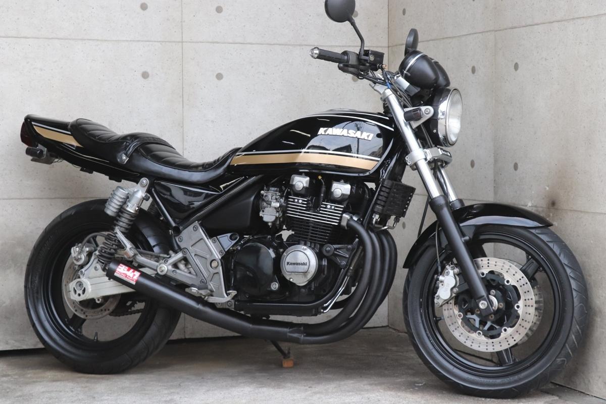 横浜~ Kawasaki ゼファー400χ G4 Z2ブラックタイガー ニューペイント 好調