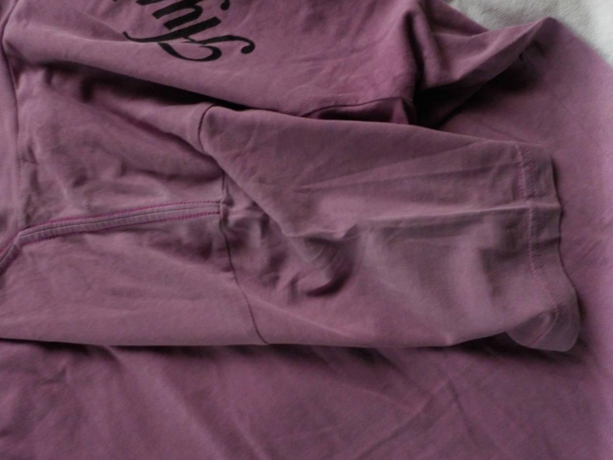 ヒスグラ★初期・セクシーなダブルヒスガールのプリントの半袖Tシャツ(難・m・濃い藤色)_画像5