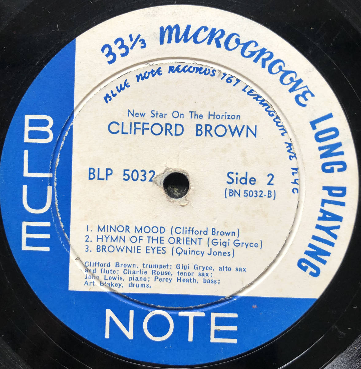 New Star On The Horizon / Clifford Brown / Blue Note 5032 / 10inch LP_画像5