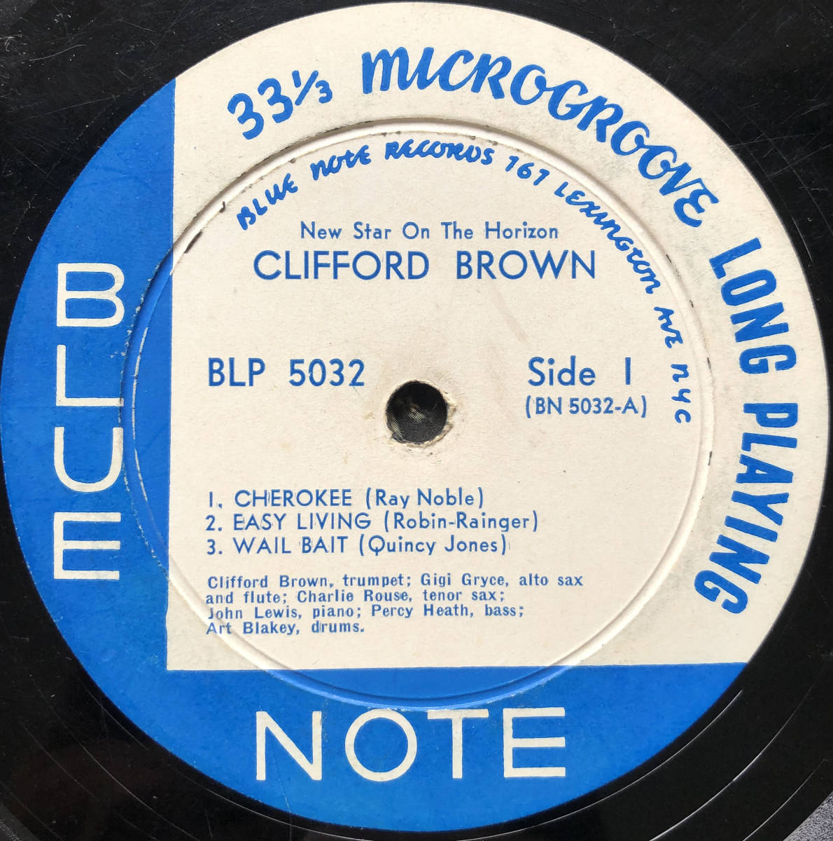 New Star On The Horizon / Clifford Brown / Blue Note 5032 / 10inch LP_画像3