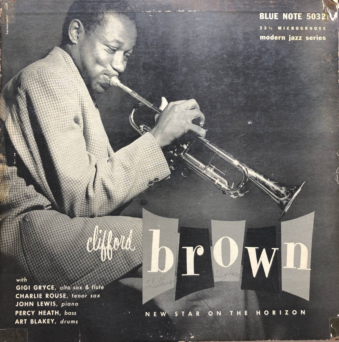 New Star On The Horizon / Clifford Brown / Blue Note 5032 / 10inch LP_画像1