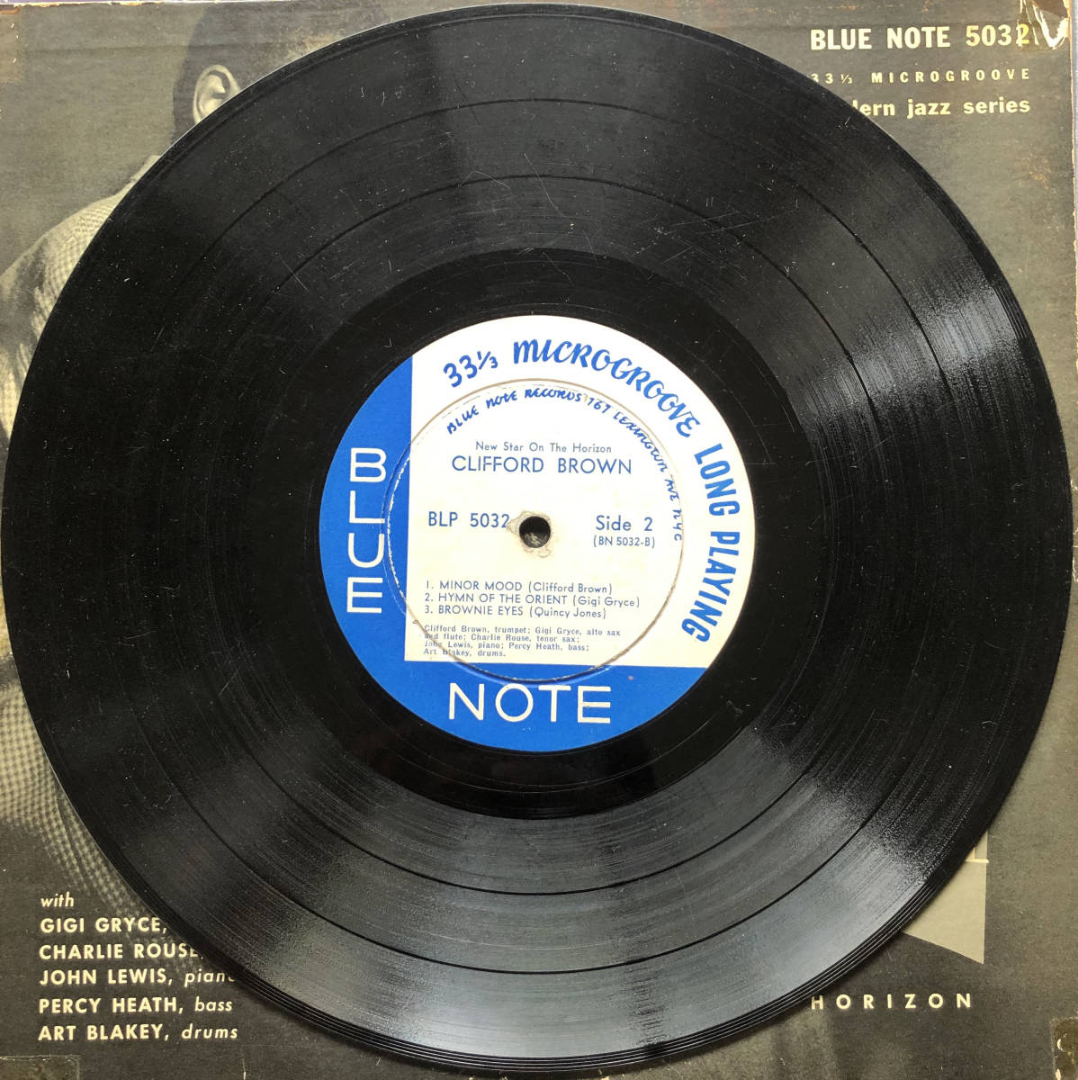 New Star On The Horizon / Clifford Brown / Blue Note 5032 / 10inch LP_画像6