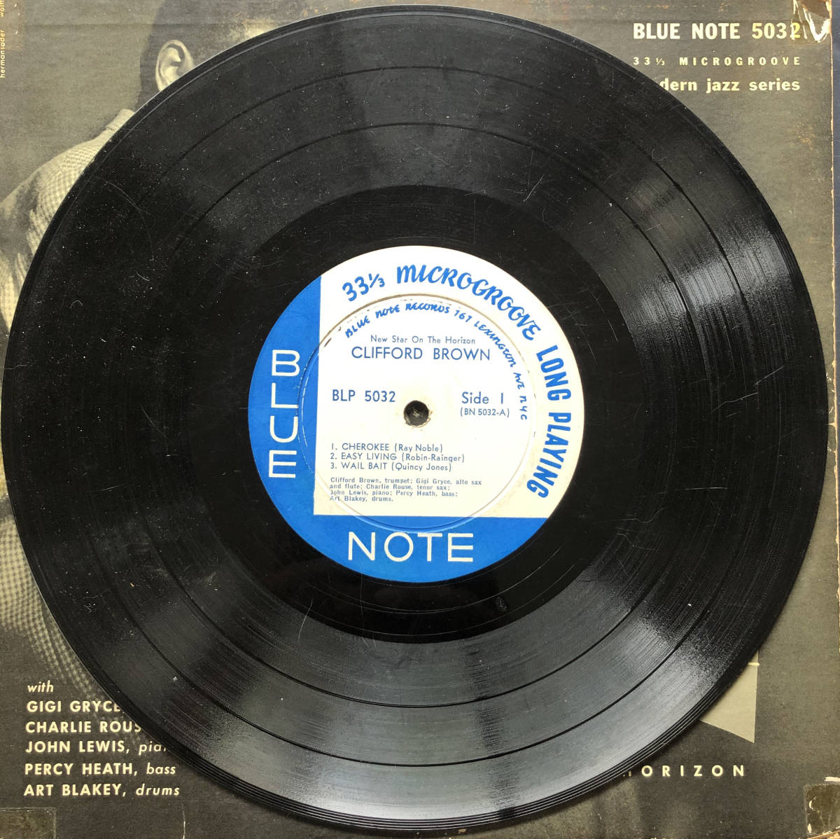 New Star On The Horizon / Clifford Brown / Blue Note 5032 / 10inch LP_画像4