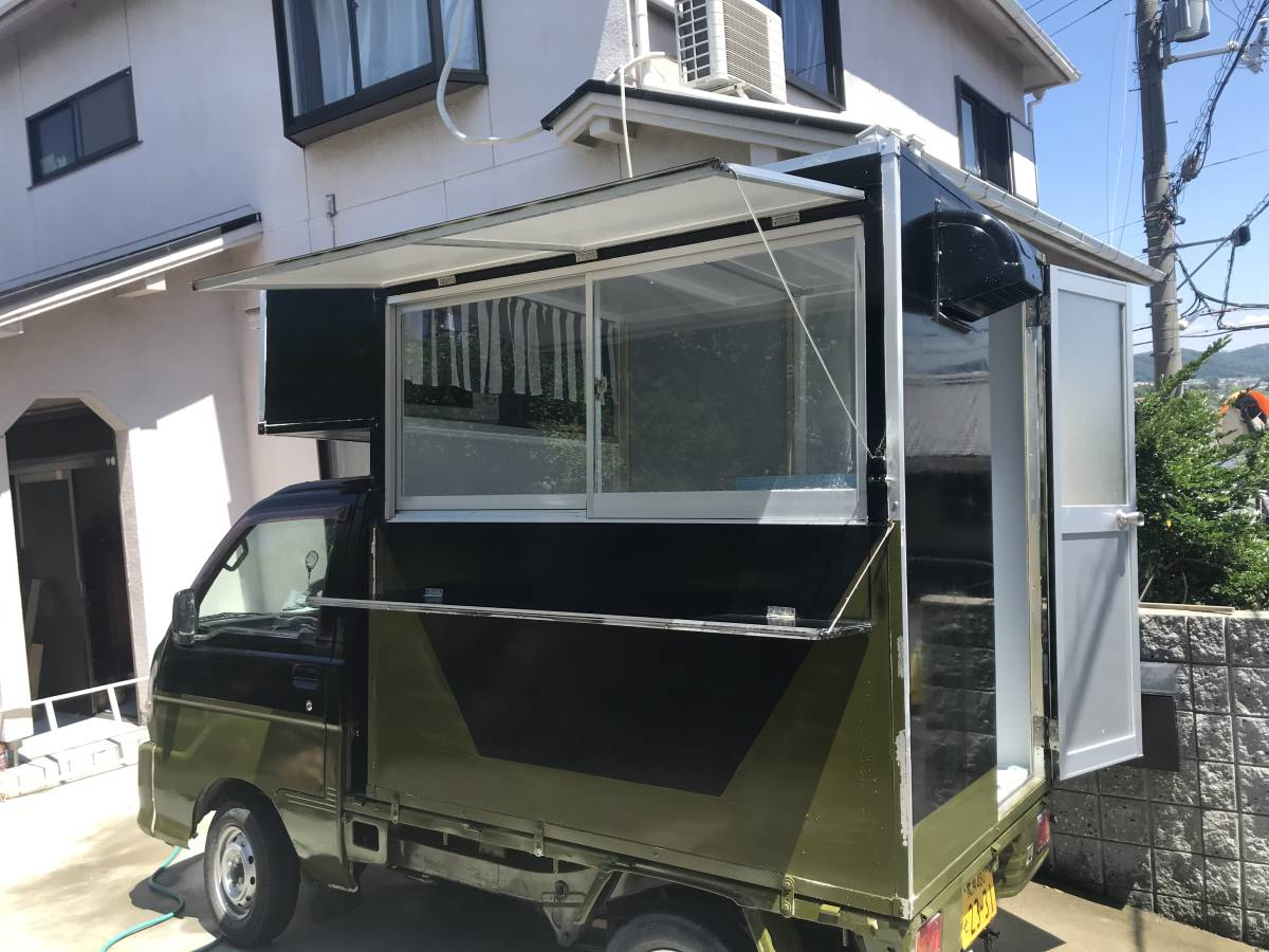 「キッチンカーボックス制作!!テイクアウト、副業、移動販売、ペット移動サロン、キャンピング、災害派遣車、」の画像1