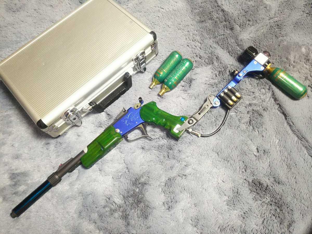 規制値適合品 デジコン ターゲット 13inch カスタム 木製グリップ M93RストックGGサンプロ SCS可変Hop トンプソン コンデンター 送料無料