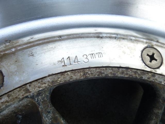 スピードスター ロンシャン XR-4 14インチ 4穴114.3 旧車 ヘラフラ 4本  タイヤ付き 売り切り!_画像4