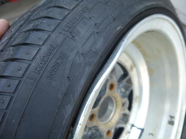 スピードスター ロンシャン XR-4 14インチ 4穴114.3 旧車 ヘラフラ 4本  タイヤ付き 売り切り!_画像10