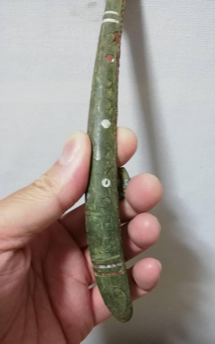 中国 戦国時代 青銅 帯鈎 検索結果 獣形帯鉤 銀篏 法器 仏器 検索:佛像 仏像_画像6