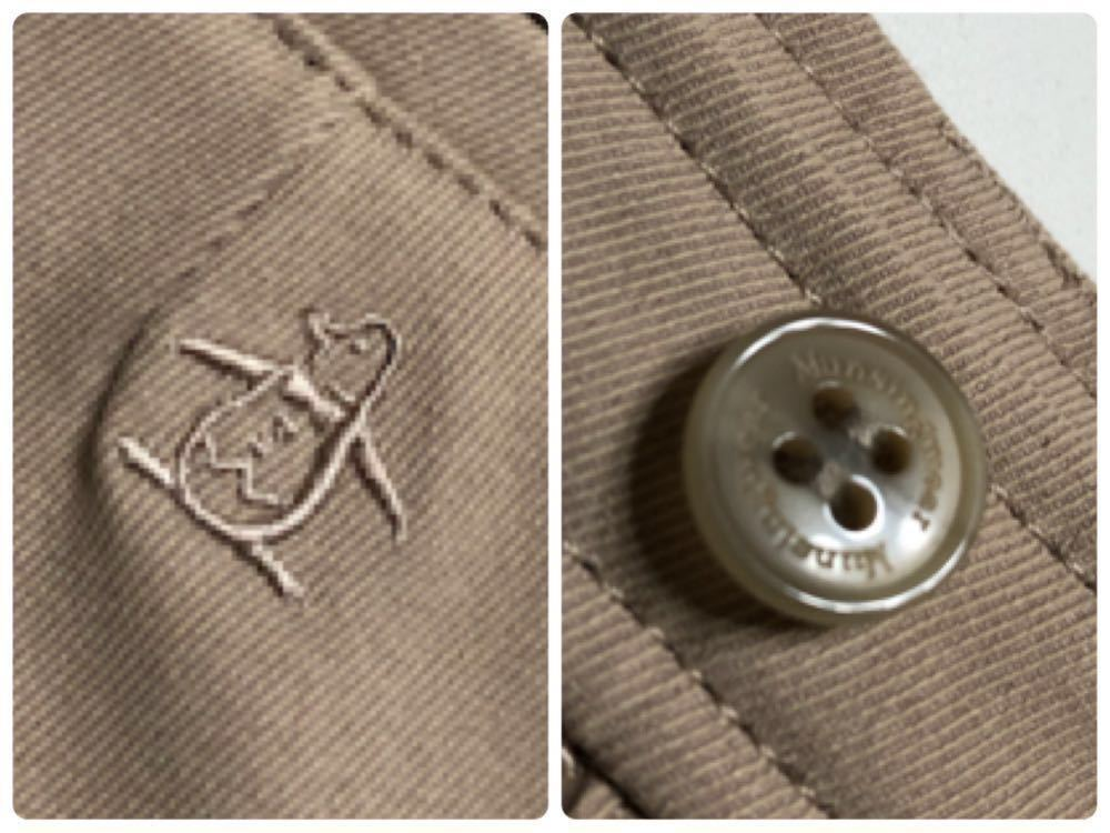【美品】 Munsing wear golf マンシングウェア ゴルフ レディース ボトムス ハーフパンツ サイズ7 カーキ 日本製 デサント ILG8601_画像3