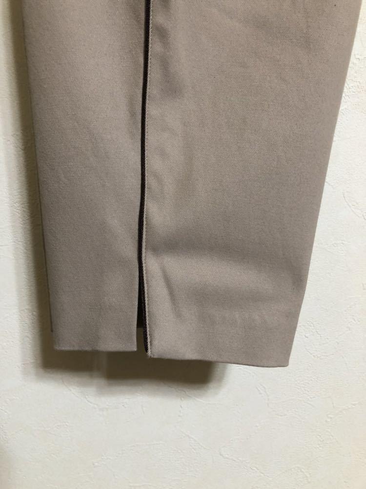 【美品】 Munsing wear golf マンシングウェア ゴルフ レディース ボトムス ハーフパンツ サイズ7 カーキ 日本製 デサント ILG8601_画像9
