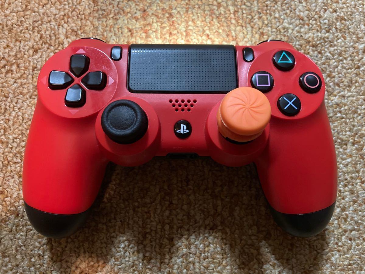 PS4 純正品ワイヤレスコントローラー レッド DUALSHOCK4 送料込
