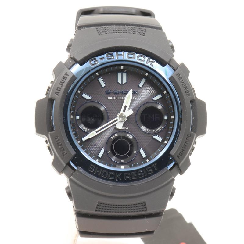 m4485 即決 本物 新品 未使用 CASHIO カシオ Gショック 電波ソーラー AWGM100A-1A 腕時計 103A2621 メンズ 箱 取扱説明書_カシオ Gショック 腕時計