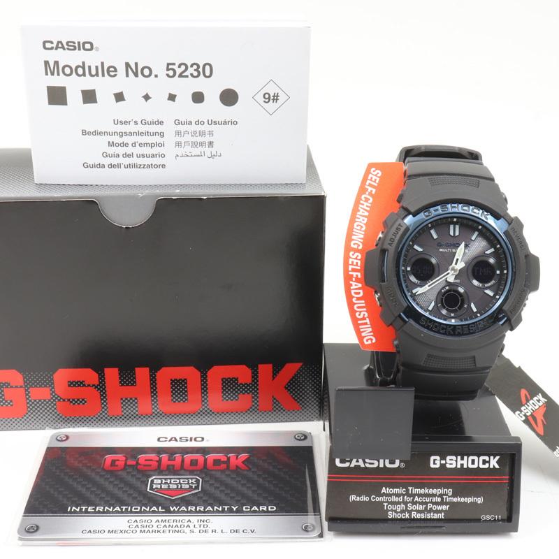 m4485 即決 本物 新品 未使用 CASHIO カシオ Gショック 電波ソーラー AWGM100A-1A 腕時計 103A2621 メンズ 箱 取扱説明書_画像2