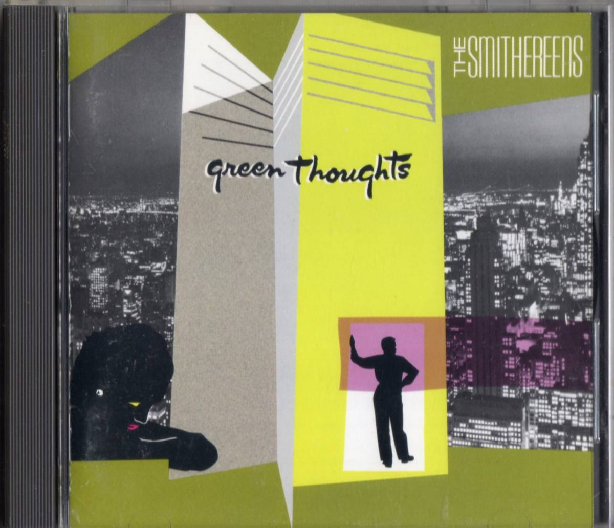 The Smithereens /Green Thoughts【Del Shannon参加・Don Dixonプロデュース日本盤CD】1988年*ザ・スミザリーンズ_画像1