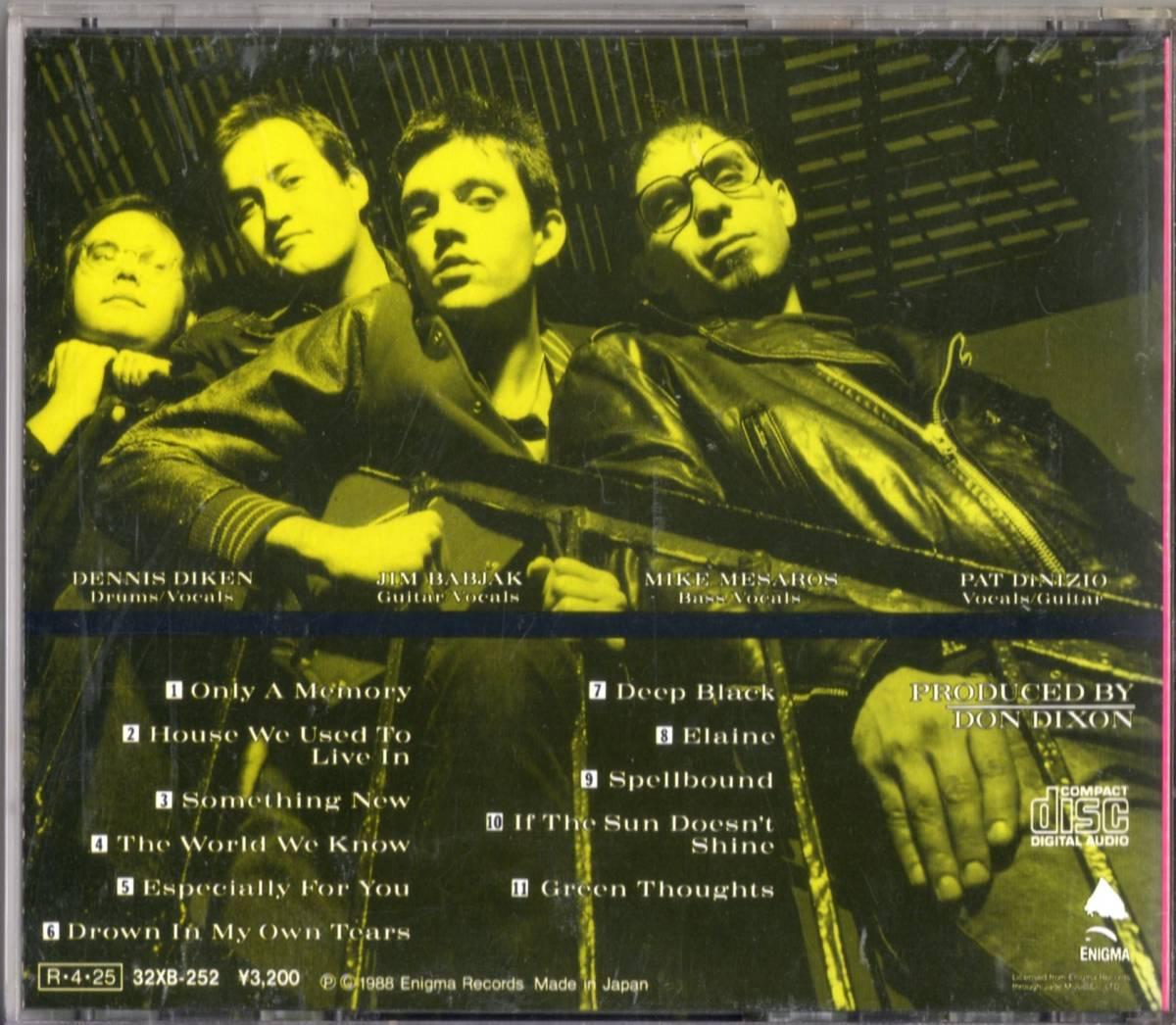 The Smithereens /Green Thoughts【Del Shannon参加・Don Dixonプロデュース日本盤CD】1988年*ザ・スミザリーンズ_画像2