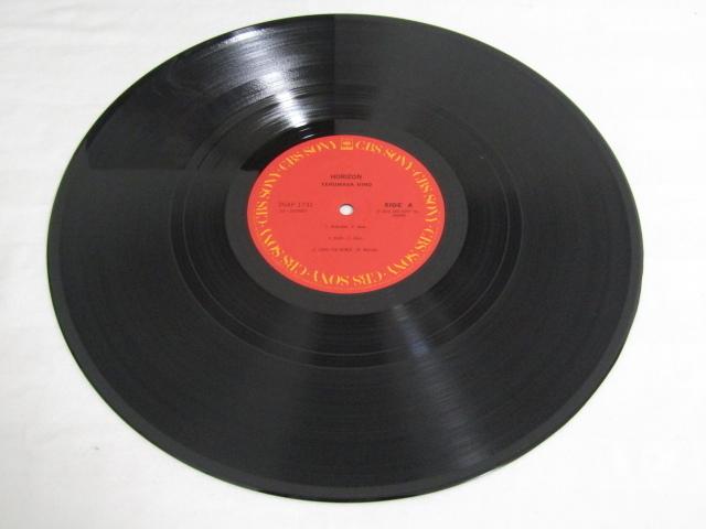RM-65926-10 LPレコード 日野皓正 ホライゾン 25AP1731 帯付き_画像3
