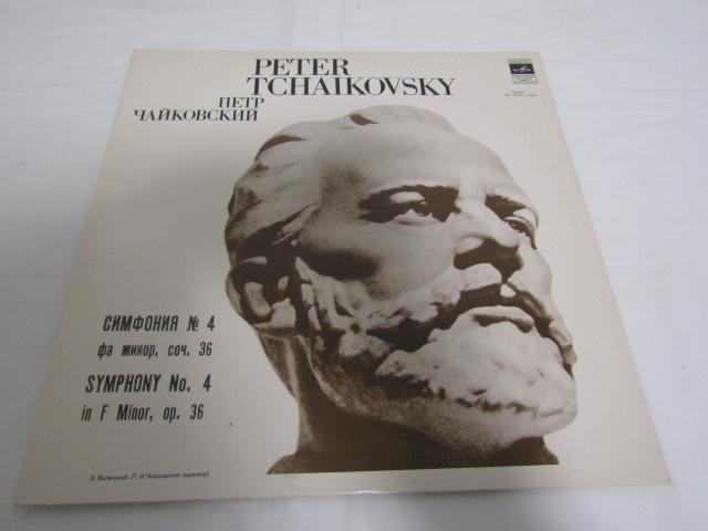 RM-66200-10 LPレコード PETER TCHAIKOVSKY ピョートル・チャイコフスキー 33C 01521-22(a) 交響曲第4番ヘ短調 op36_画像1