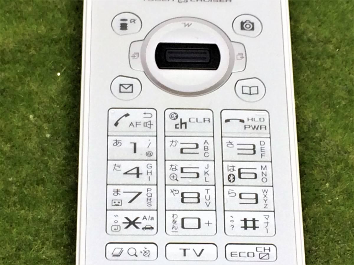 d565【美品・サマーセール】■同梱OK・初期化OK・簡易清掃OK・判定OK■docomo SH-03A ホワイト SHARP 中古 ガラケー 携帯 ドコモ FOMA_画像5