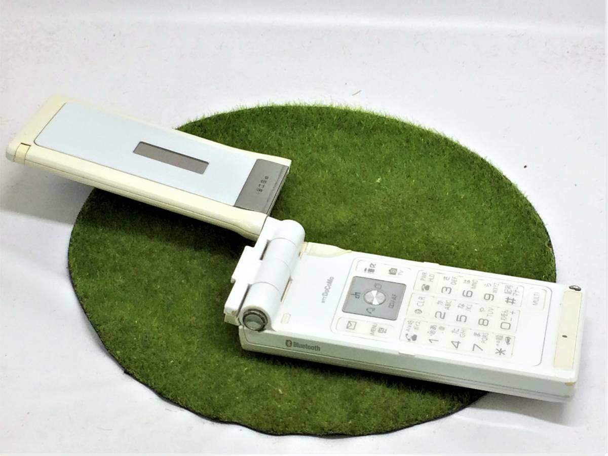 d575【美品・サマーセール】■同梱OK・初期化OK・簡易清掃OK・判定OK■docomo P905i ホワイト Panasonic 中古 ガラケー 携帯 ドコモ FOMA_画像3