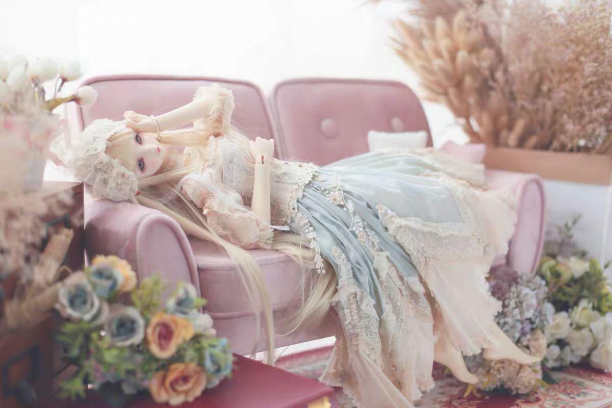 特価商品 BJDドール用ソファー SD/DDサイズ通用 家具 椅子 球体関節人形 doll 生地のオーダー可能_画像3
