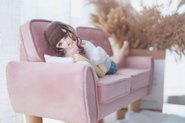 特価商品 BJDドール用ソファー SD/DDサイズ通用 家具 椅子 球体関節人形 doll 生地のオーダー可能_画像6