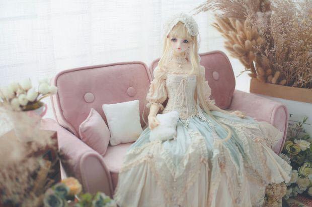特価商品 BJDドール用ソファー SD/DDサイズ通用 家具 椅子 球体関節人形 doll 生地のオーダー可能_画像8
