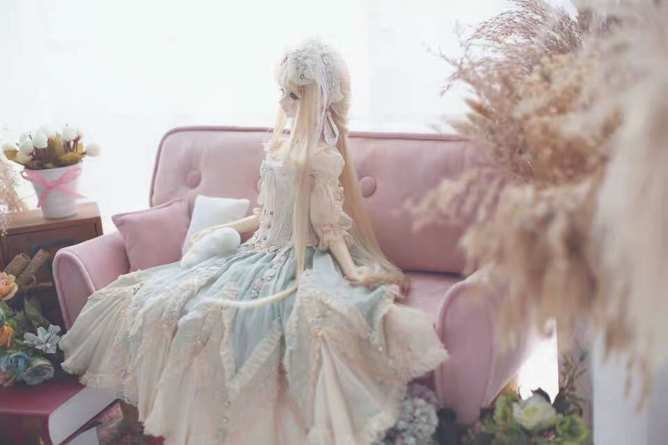 特価商品 BJDドール用ソファー SD/DDサイズ通用 家具 椅子 球体関節人形 doll 生地のオーダー可能_画像4