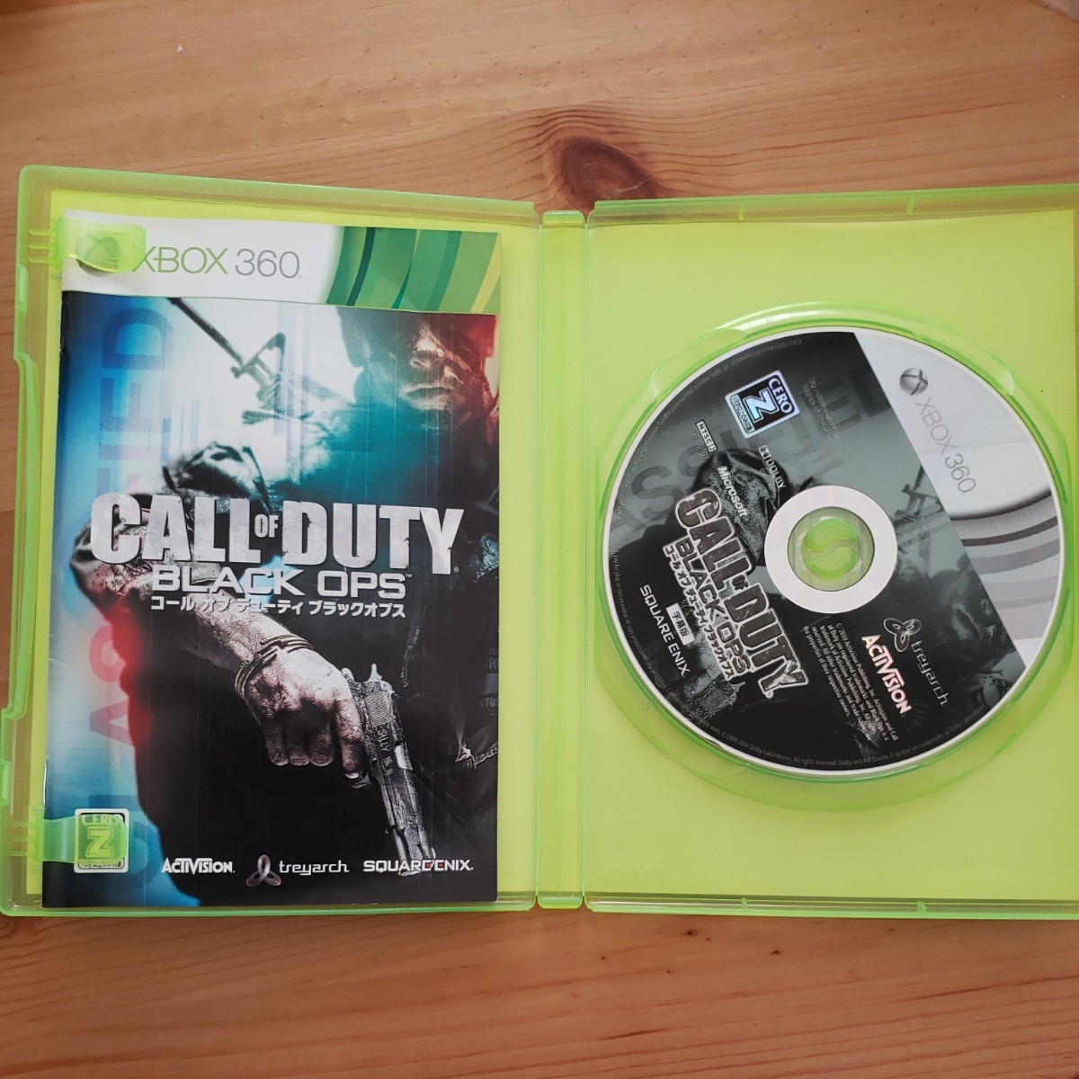 【Xbox360】 コール オブ デューティ ブラックオプス [字幕版]