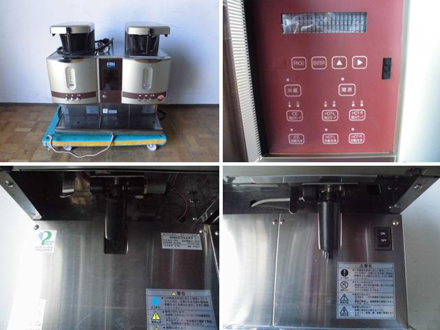 中古厨房 FMI 業務用 ドリップ コーヒーマシン カフェトロン CT-1105C+CT-150 アイスユニット ドッキングタイプ 三相 200V 100V_画像2