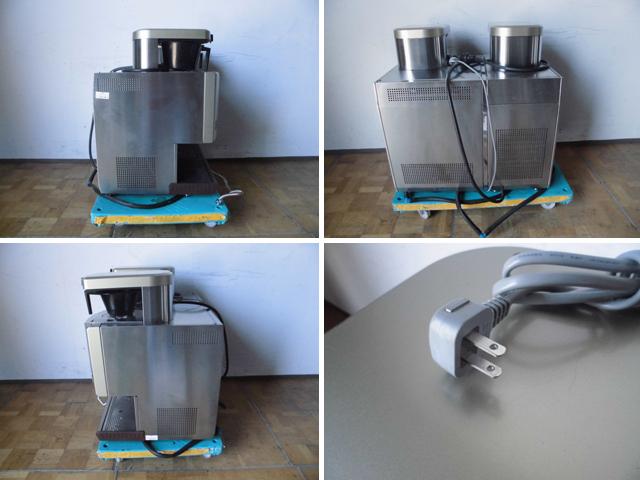 中古厨房 FMI 業務用 ドリップ コーヒーマシン カフェトロン CT-1105C+CT-150 アイスユニット ドッキングタイプ 三相 200V 100V_画像3