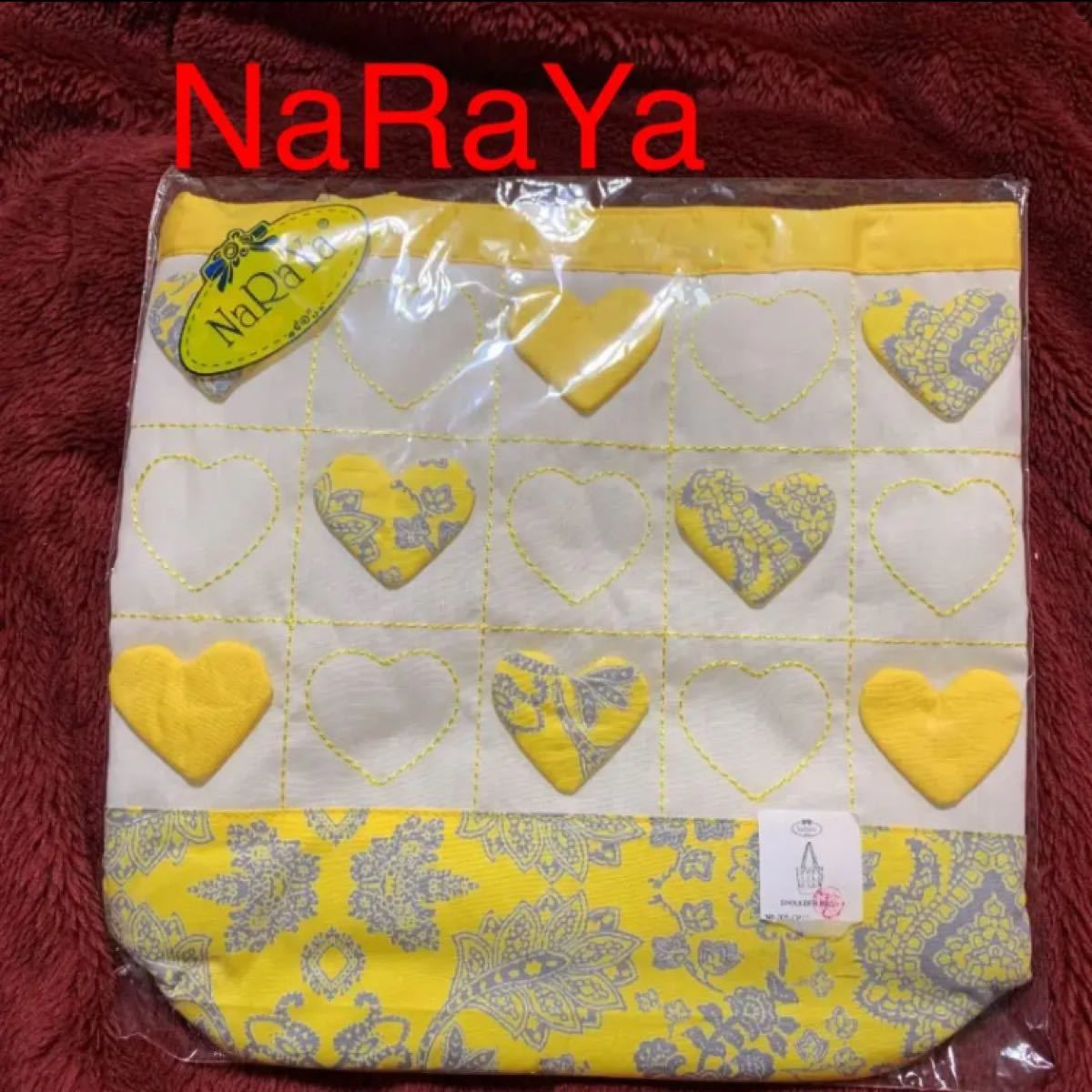 タイ 《NaRaYa》トートバッグ 新品未使用