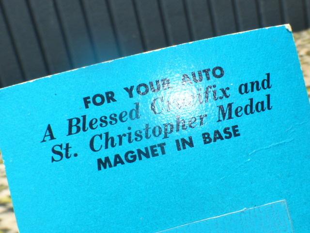 当時物!ダッシュ キリスト セントクリストファー ローライダー インパラ1959ベルエア空冷VW1957 KUSTOM USDM 北米ハイドロ デイトンHOTROD_画像5