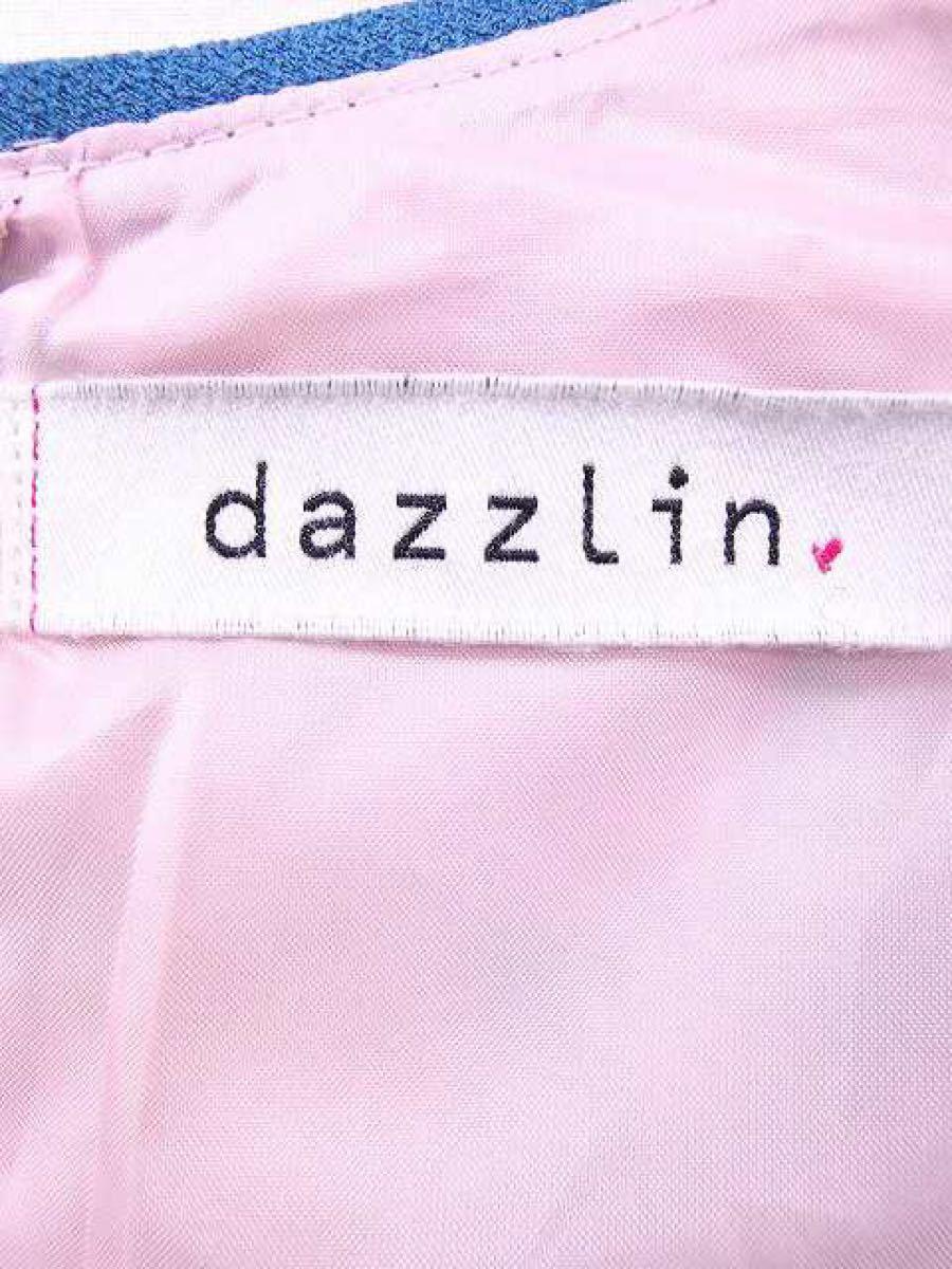 ダズリン dazzlin ブラウス カットソー 花柄 ノースリーブ フレア
