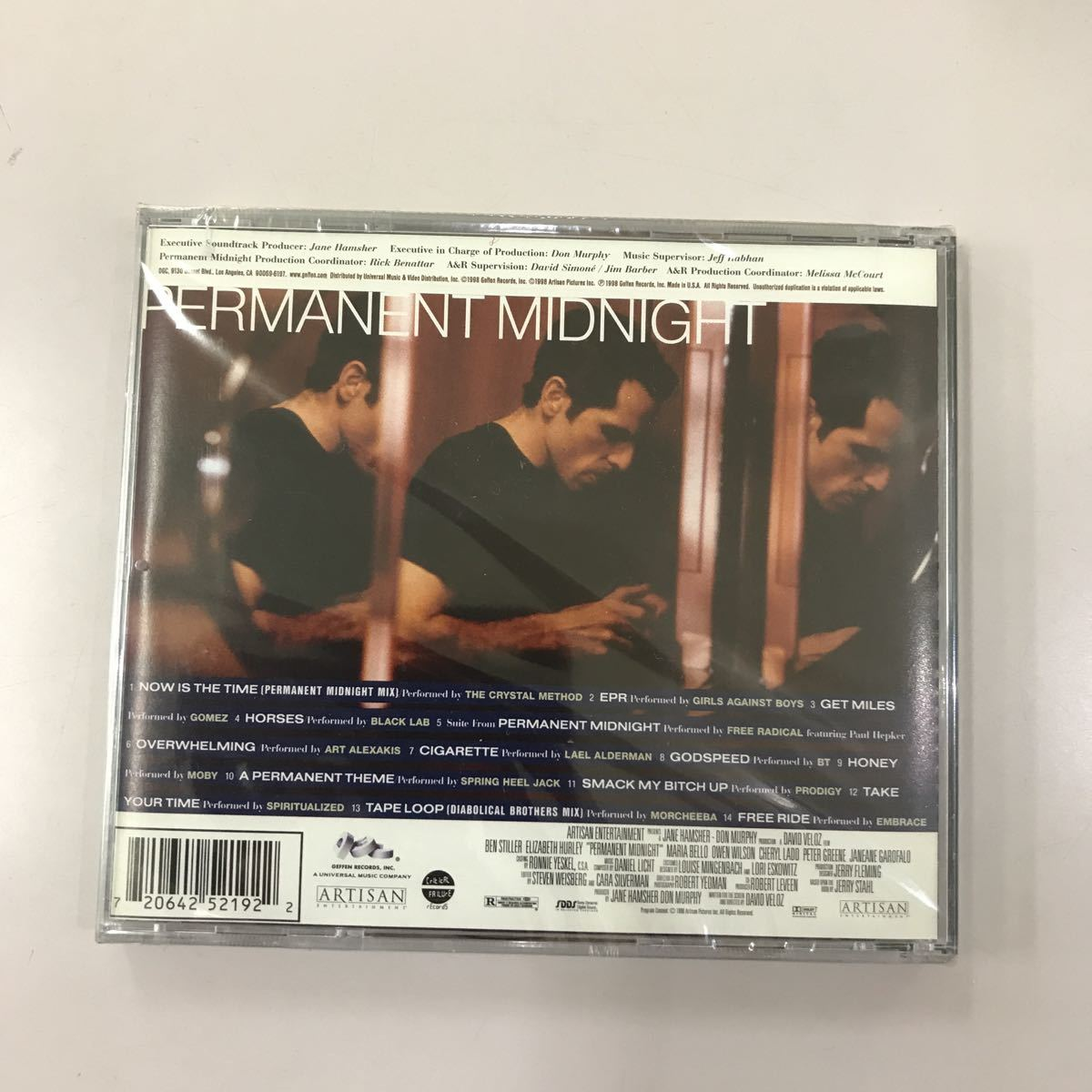 CD 未開封【洋楽】長期保存品 PERMANENT MIDNIGHT
