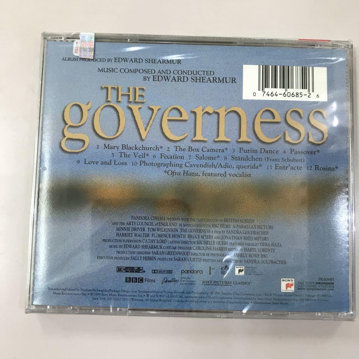 CD 未開封【洋楽】長期保存品 THE GOVERNESS