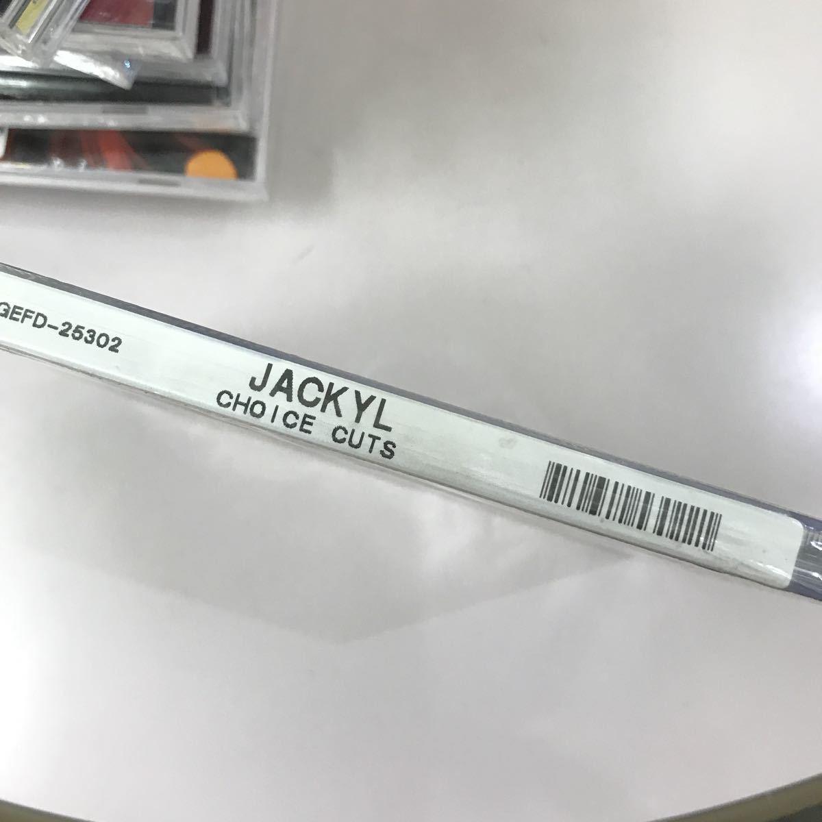 CD 未開封【洋楽】長期保存品 JACKYL CHOICE CUTS