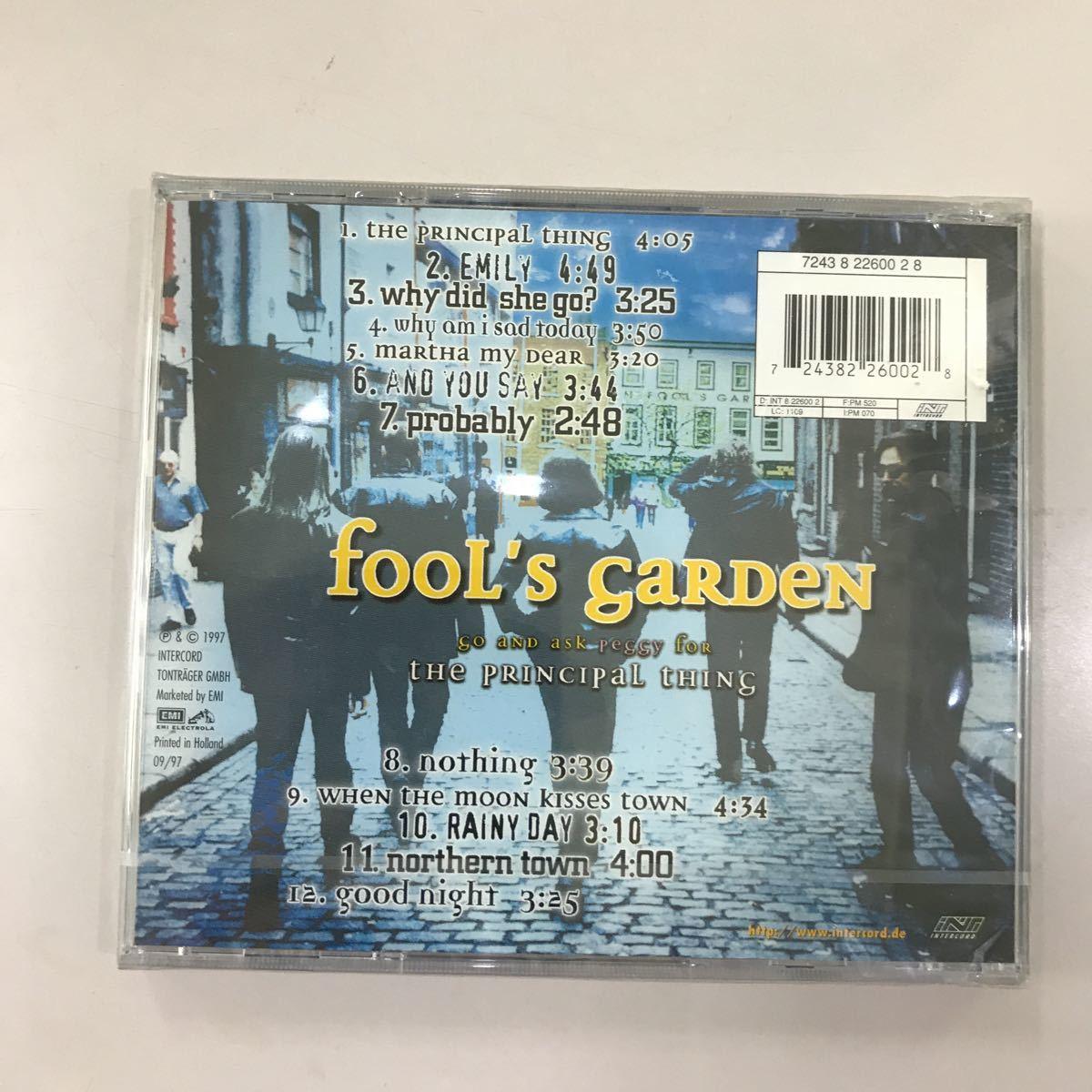 CD 未開封【洋楽】長期保存品 fooL's gaRDeN