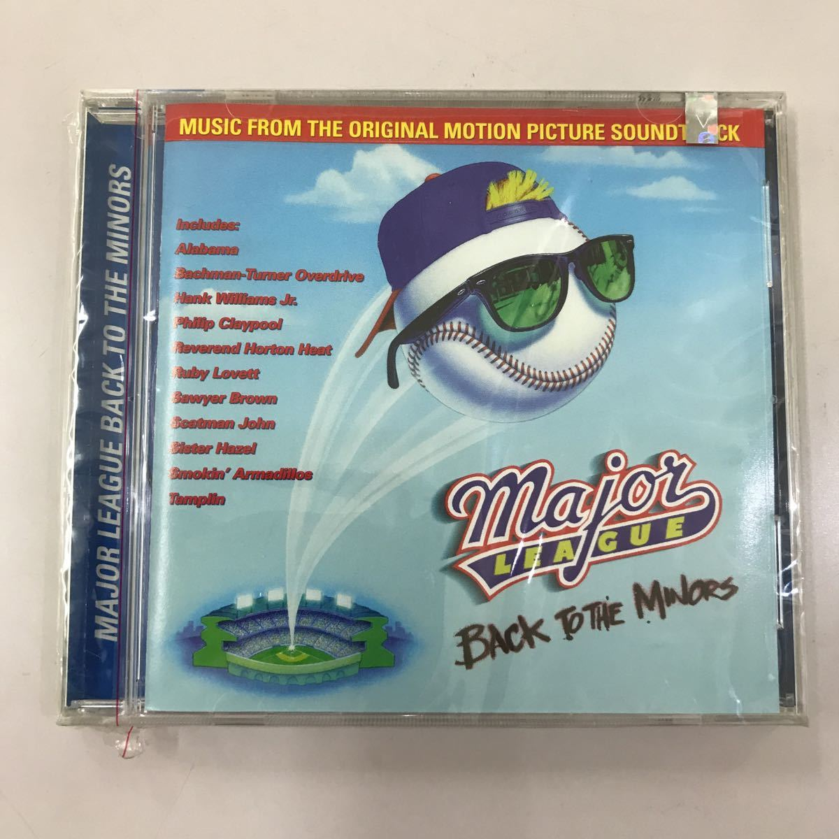 CD 未開封【洋楽】長期保存品 MAJOR LEAGUE