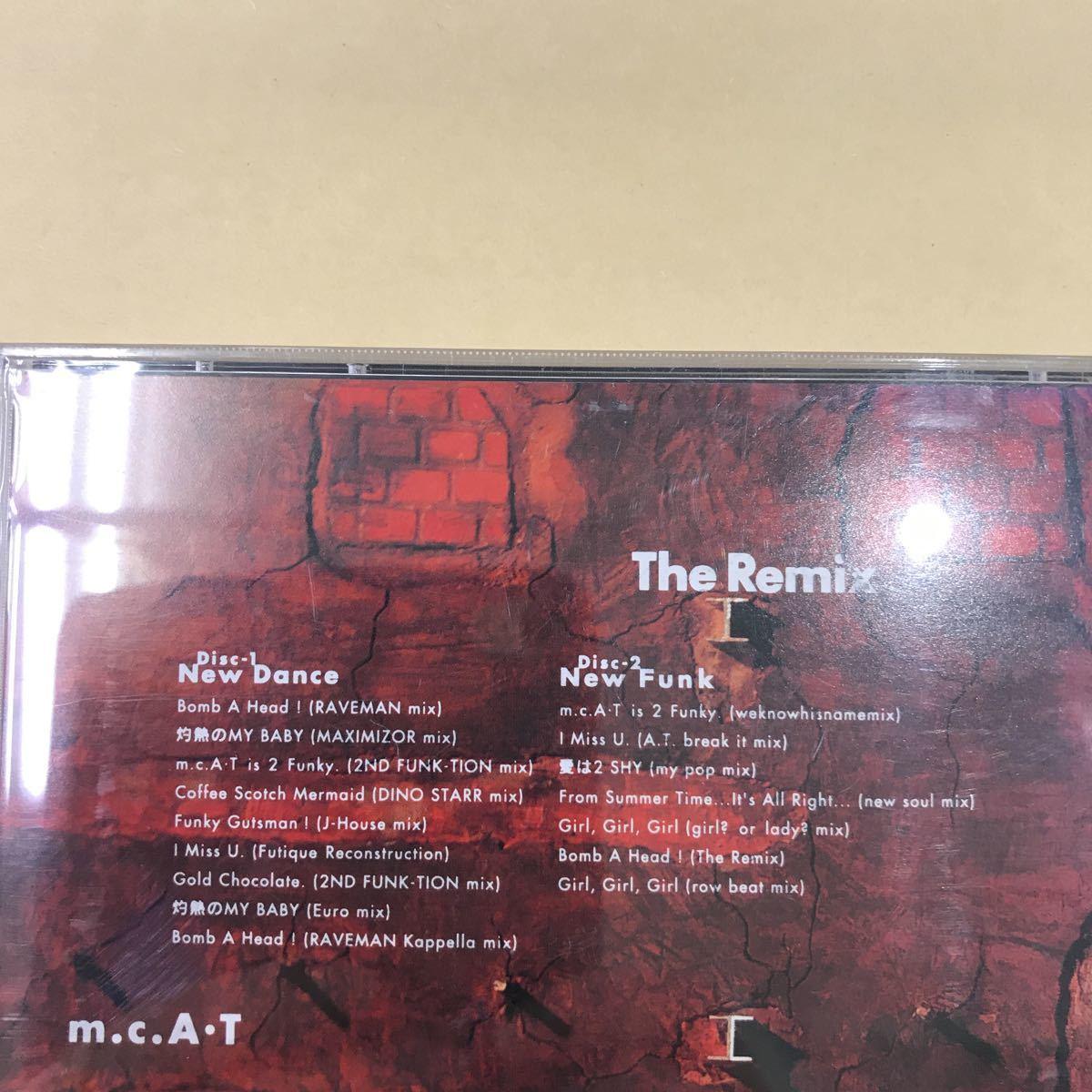 CD 中古☆【邦楽】m.c.A. T The Remix