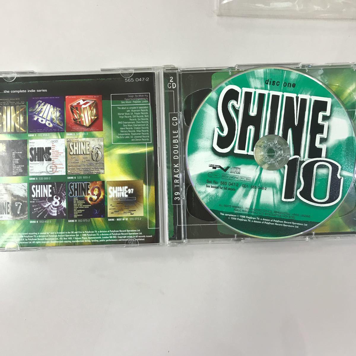 CD 中古☆【洋楽】SHINE 10