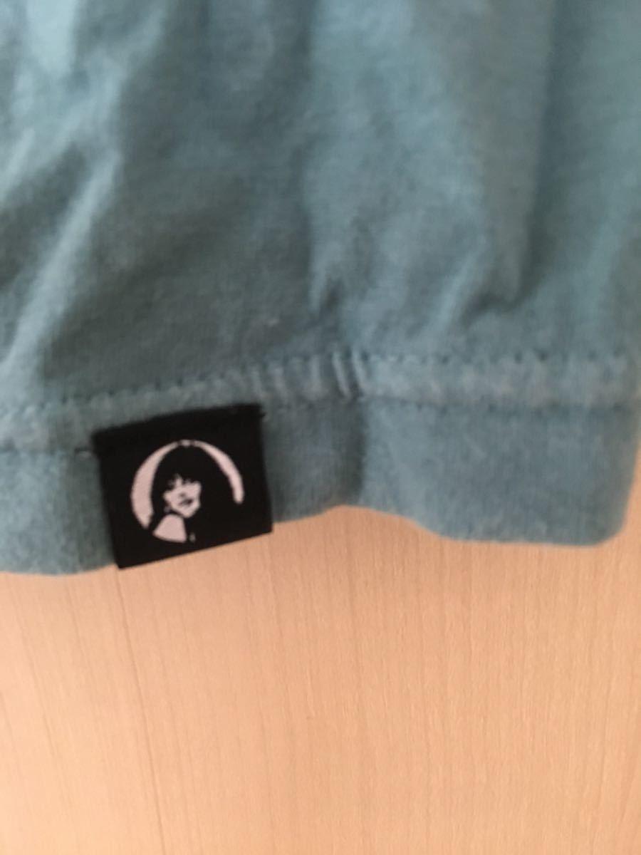 ヒステリックグラマー ブルーグラデーション 半袖Tシャツ レディース