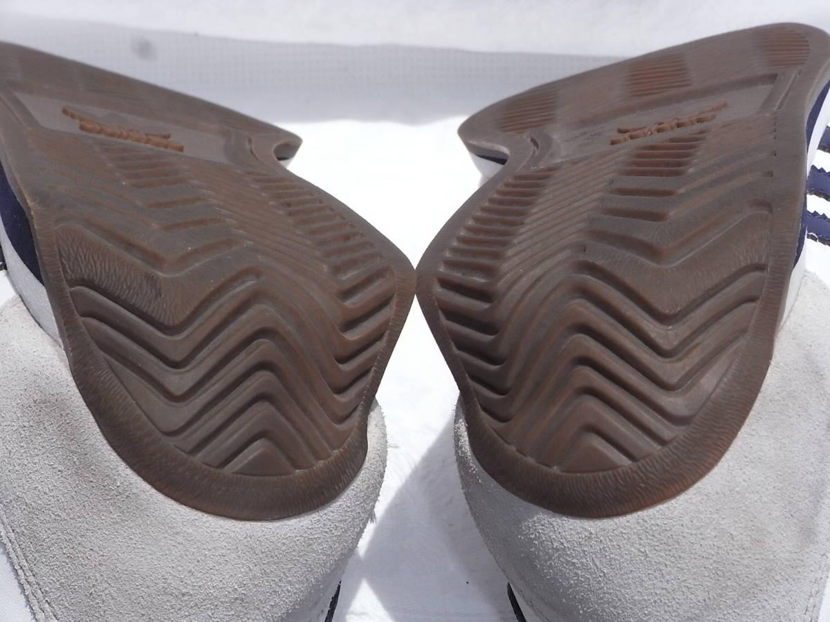 激レア ヴィンテージ 美品 adidas country カントリーネイビー ヴィンテージ復刻 生産終了モデル 2011years made アディダス 紺27.5cm_画像4