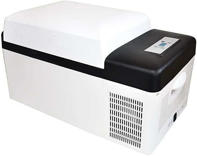 新品★送料無料★Bonarca 車載用 冷蔵冷凍庫 20L -20℃~20℃まで温度設定可能 2WAY電源対応 アウトドアや緊急時の車中泊にも活躍_画像1