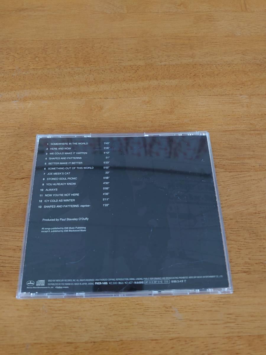 シェイプス&パターンズ SHAPES&PATTERNS/SWING OUT SISTER スウィング・アウト・シスター 国内盤 【CD】_画像2