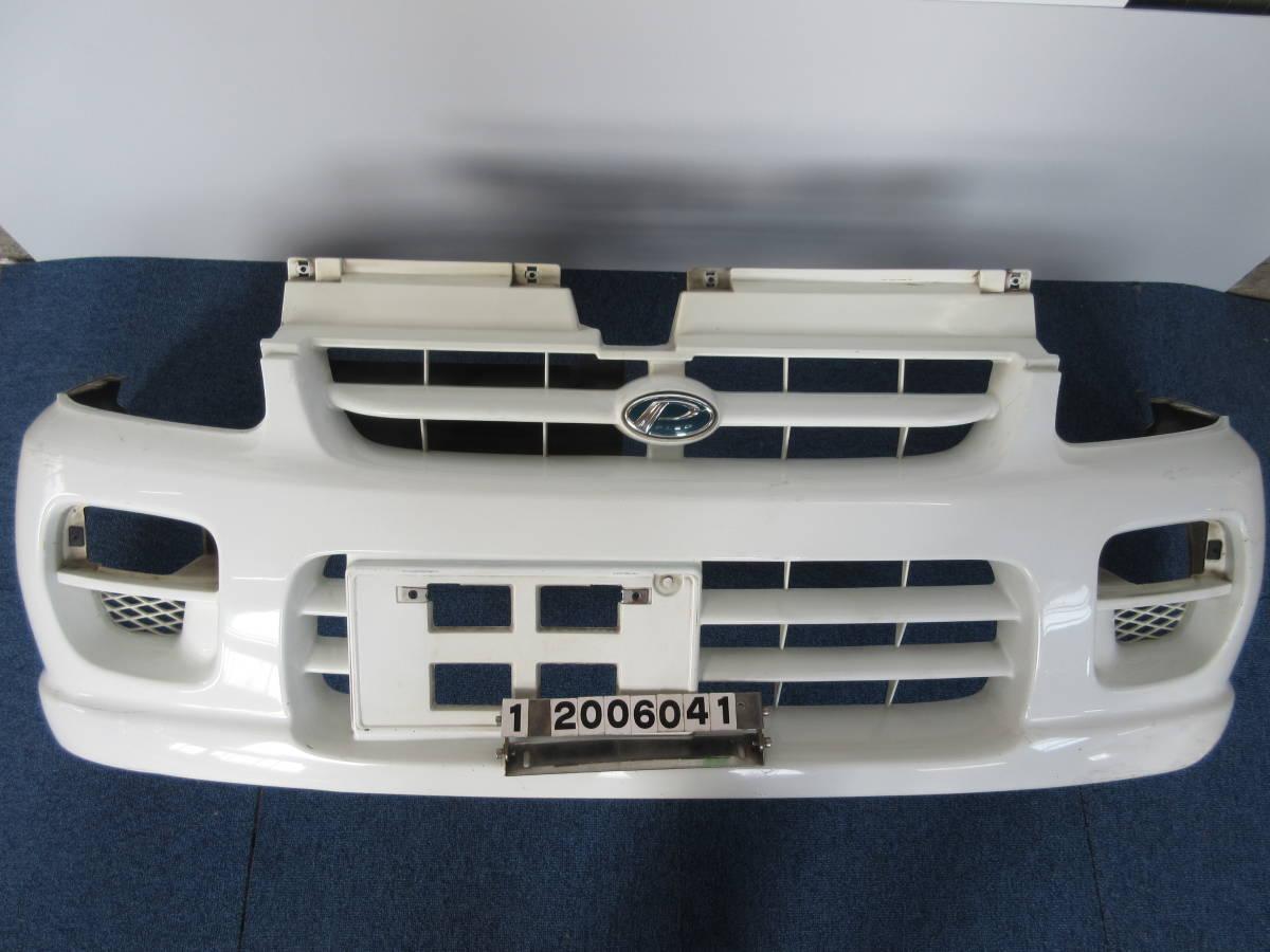 RA1 RA2 プレオ 前期 純正 フロント バンパー 白 ホワイト フロントバンパー 57704KE000(個人宅発送不可)_画像1