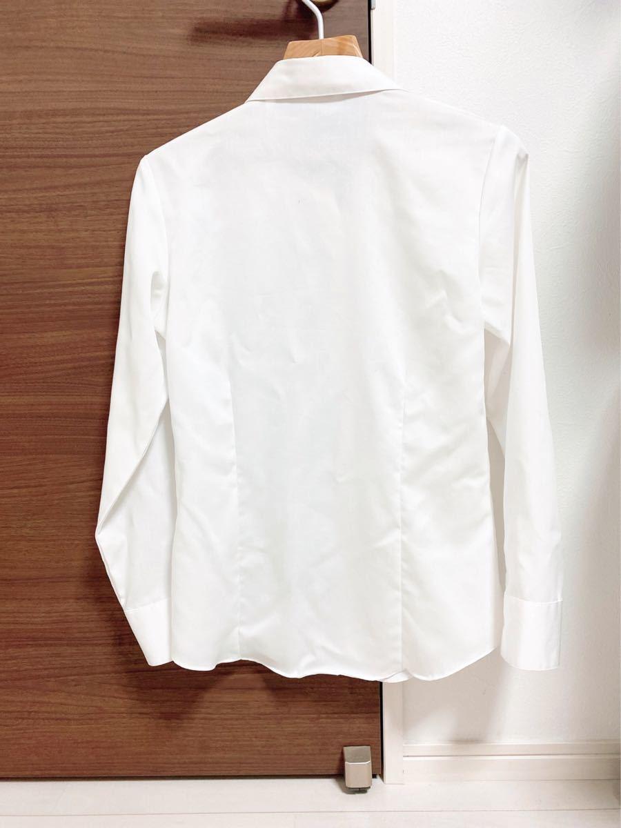 シャツ カッターシャツ 長袖 ブラウス パーソンズ